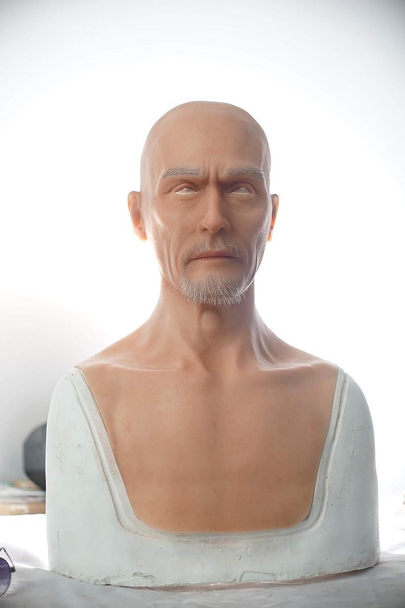 5世代シリコン仮面 男性Charles #1アイボリー ホワイト MDM(#1アイボリー ホワイト)