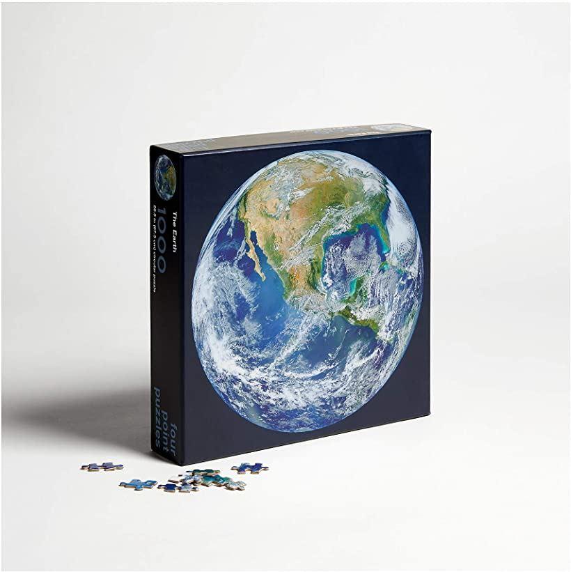 1000ピース ジグソーパズル 地球 NASA 円形 JP-002