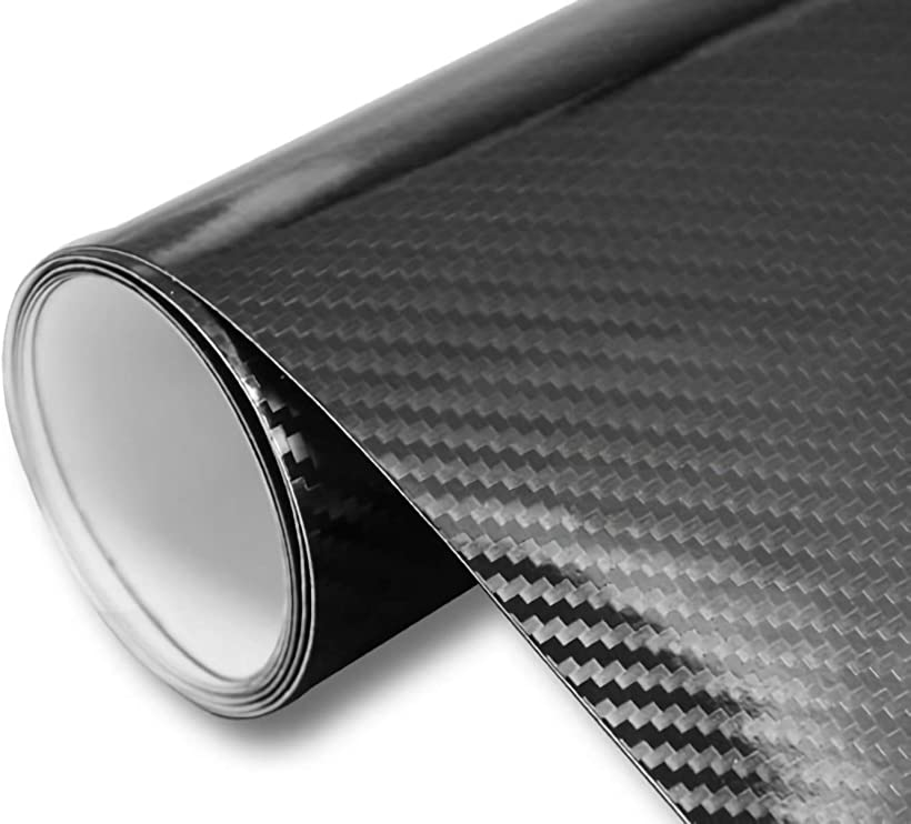 IlMondoMall イルモンドモール 格安SALEスタート 驚異の進化 5D カーボンシート カーボンステッカー 黒 汎用 国内送料無料 152x035cm