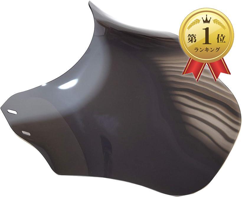 start.side バイク 風防 スクリーン メーター バイザー カウル 黒 モデル着用 注目アイテム ブラック カバー 無地タイプ 割引 汎用 ネイキッド