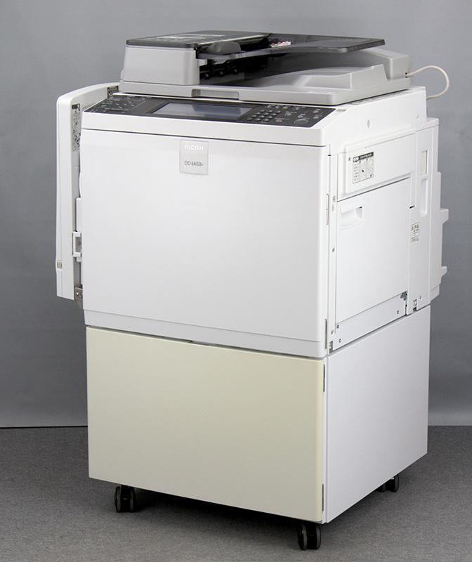 【過去印刷枚数224,706枚/A3対応/チラシ】中古印刷機/中古輪転機 現行機種 リコー/RICOH デジタル印刷機/輪転機 Satelio DD6650P【中古】