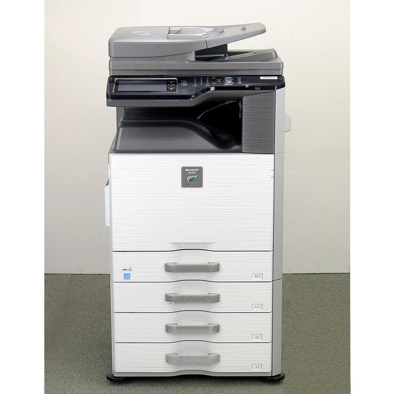 シャープ シャープ/SHARP/SHARP カラー中古コピー機 MX-2514FN (コピー、FAX、プリンター、カラースキャナー)業務用複合機(4段カセット/カウンタ:15,820枚)保守可能 MX-2514FN【中古】, elaine fashion:3970e80e --- officewill.xsrv.jp