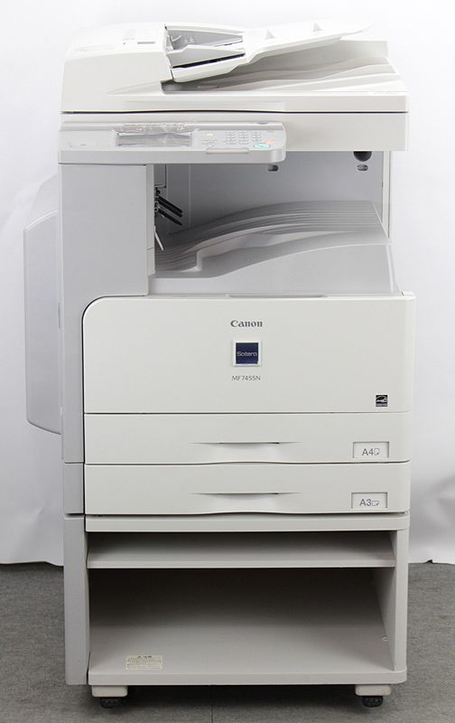 キヤノン(Canon) A3モノクロコピー機 白黒コピー機 A3モノクロコピー機/複合機 Satera MF7455N 2段カセット 2段カセット キヤノン(Canon) (コピー・FAX・ネットワークプリンター・ネットワークスキャナー・シンプルSend拡張済み)カラースキャン可能【中古】, フラコスメ:7717e5bc --- officewill.xsrv.jp