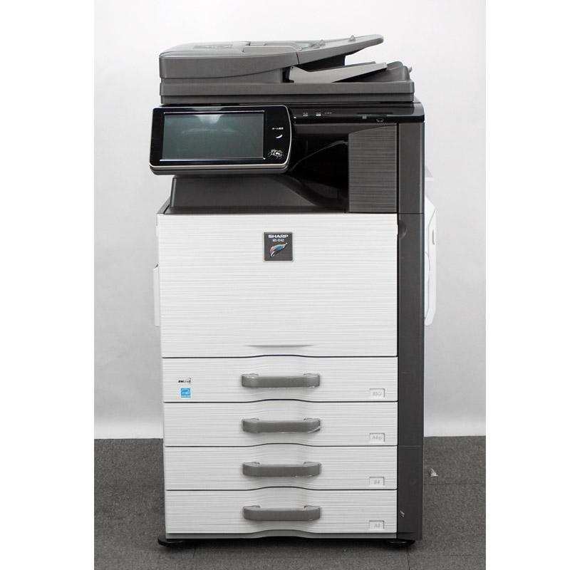 シャープ/SHARP カラーコピー機/複合機 MX-4140FN(4段カセット/保守可能/速印刷毎分41枚) 中古 保守可能