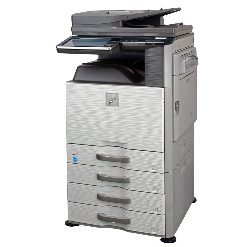 シャープ(SHARP) カラー中古コピー機/複合機 MX-2640FN (無線LAN対応/カウンタ24,092枚) 中古複合機【中古】 フル機能搭載 保証