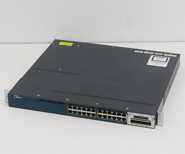 通信機器の世界最大手 シスコ製 CISCO シスコ Catalyst 3560X-24T-S WS-C3560X-24T-S C3KX-NM-1G 新発売 モジュール付き L2 Base 物品 モデル スイッチ 1カ月保証あり Cisco 送料無料 L3スイッチ 中古 IP