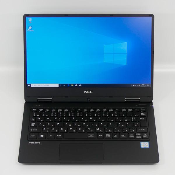 約921gの超軽量ノートPC NEC ノートパソコン ご予約品 VKA10 お見舞い H-3 PC-VKA10HZG3 12.5型 m3-7Y30 メモリ4GB Webカメラ搭載 送料無料 中古 10 Windows Office MS 無し インストール済み Pro