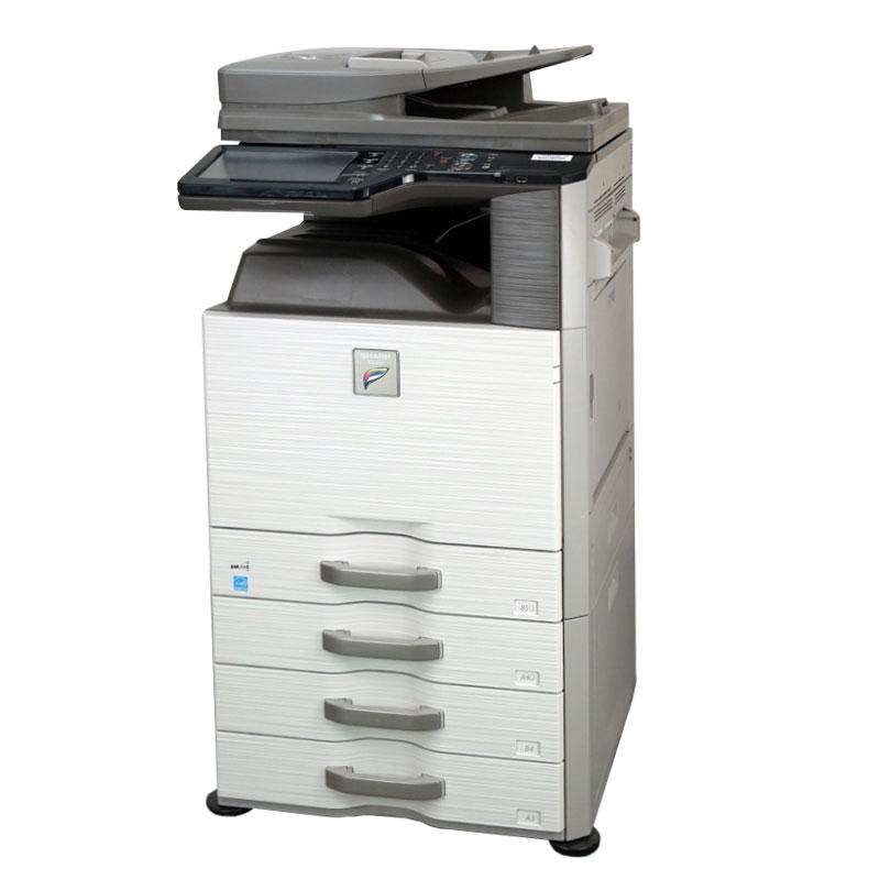 SHARP(シャープ) A3カラーコピー機  MX-2517FN 中古コピー機/中古複合機 (コピー・ファックス・ネットワークプリンター・ネットワークスキャナー機能搭載/コンパクト/小型コピー機)【中古】 保証 セキュリティ 両面印刷