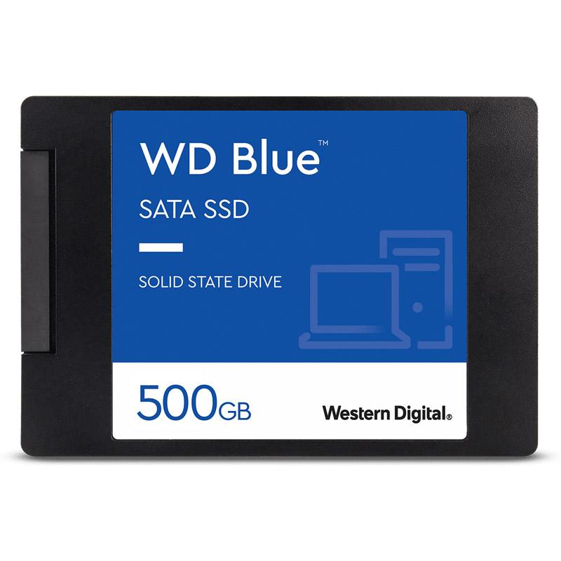 送料無料 Western 在庫あり Digital WDS500G2B0A WD Blue 7mmケース入り 500GB 2.5inch 新品 メーカー保証付き SATA 記憶装置 SSD 正規逆輸入品