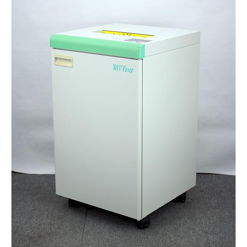 明光商会 業務用シュレッダー MSV-F31CF(最大細断25枚/電動/A3対応)【中古】