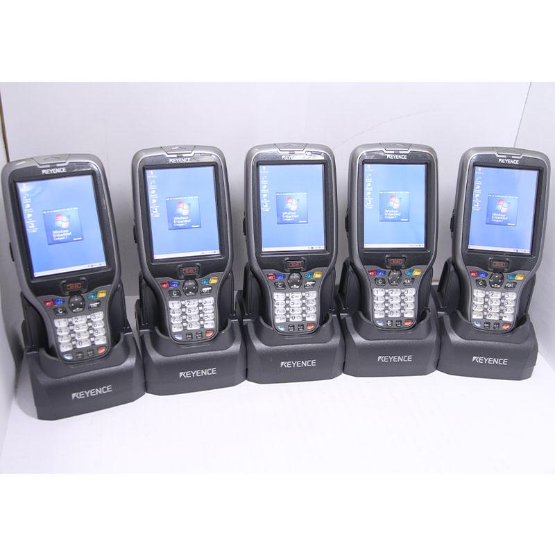 無線LAN Bluetooth タッチパネル対応の高機能ハンディターミナル 大阪発送 充電器 ACアダプタ付属 送料無料 ハンディターミナル 通常便なら送料無料 BT-W155KEYENCE キーエンス 優先配送 タッチパネル対応 一ヶ月保証有り 中古 無線LAN対応 Bluetooth対応 ACアダプタ付 充電器付 5台セット バッテリー付