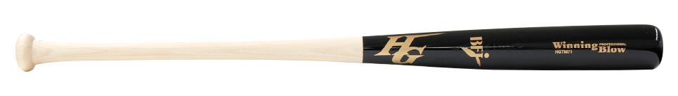 硬式木製バット 当店は最高な サービスを提供します BFJマーク入り 中国青タモ 期間限定お試し価格 ハイゴールド アオダモ 先端くり抜き加工別途費用にて可能