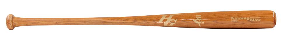 硬式木製バット 国産品 BFJマーク入り 中国青タモ 安値 ハイゴールド アオダモ