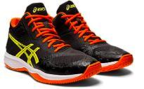 最新モデル 激安 アシックス asics バレーボール シューズ デザイン性 ミッドカット クッショニングモデル オレンジ ブラック イエロー