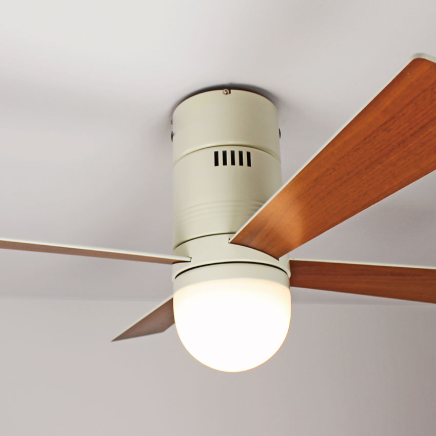 リモコン 調光式 LED シーリングファンライト OBCF-1154 天井照明 照明 北欧 LED光源 モダン リビング 居間 寝室 照明 ダイニング 調光 6畳 8畳 10畳 照明器具 おしゃれ 【SS】