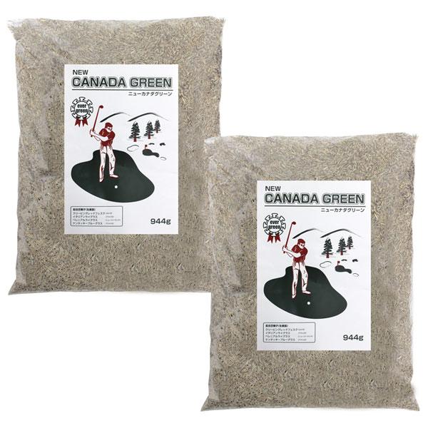 送料無料 芝生の種 カナダグリーン 種まき ニューカナダグリーン 2個セット NEW