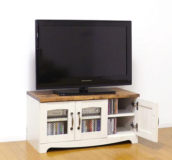 送料無料 カントリー テレビ台 幅80 カントリー家具 フレンチ