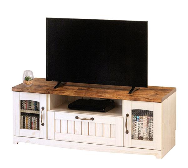 送料無料 カントリー テレビ台 幅105 カントリー家具 フレンチ