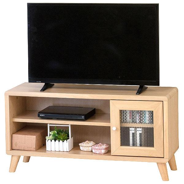 送料無料 テレビボード TVボード 脚 付き チュラルナ 収納 一人暮らし 家具
