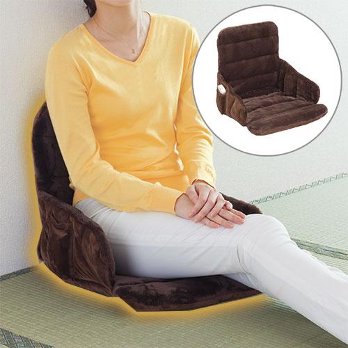 ゼンケン 腰すっぽりヒーター 電磁波99%カット 電磁波カット ヒーターチェア 座椅子 電気座布団