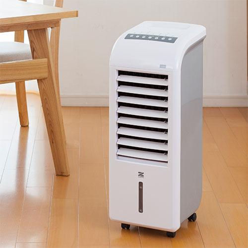 ゼンケン 加湿機能付きスリム温冷風扇 ZHC-1200
