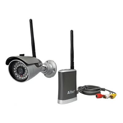 送料無料 防水 かんたん無線カメラ AT-6130
