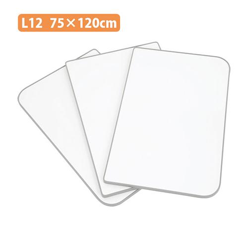 風呂ふた Ag組合せ風呂ふた 75×120 (実サイズ73×118) 3枚組 L12