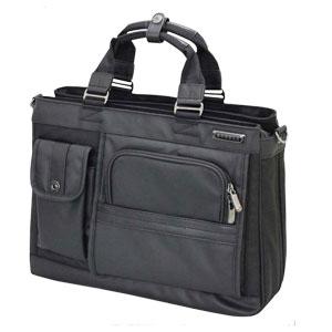 送料無料 バジェックス BAGGEX ヴィグラス トートバッグ 肩掛け 3層式 メンズ ブリーフ ブラック バッグ メンズ