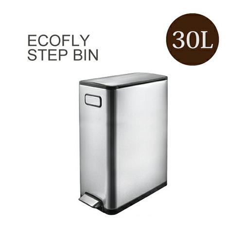 送料無料 eko ゴミ箱 エコフライ ステップビン 30L ECOFLY STEP BIN EK9377MT-30L