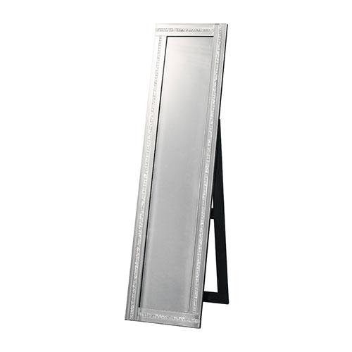 送料無料 スタンドミラー ミラー 姿見 鏡 全身鏡 1ライン