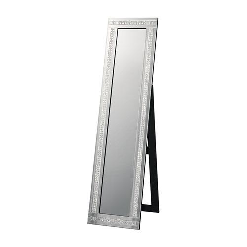 送料無料 スタンドミラー ミラー 姿見 鏡 全身鏡 2ライン