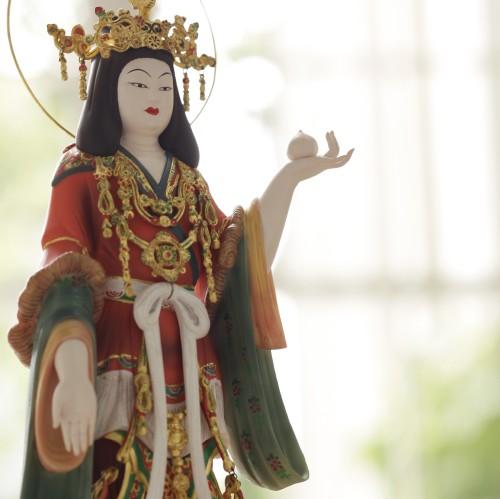 送料無料 仏像 フィギュア イSム イスム 吉祥天-復元極彩色仕様- 003007
