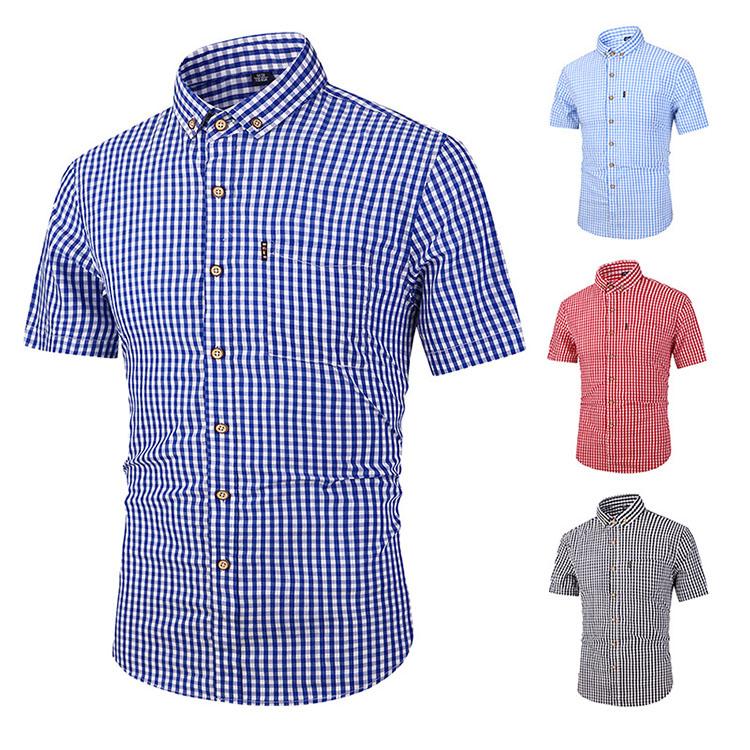 半袖シャツ シャツ メンズ Yシャツ アイテム勢ぞろい 綿 レギュラーシャツ 通気性S M L XL 2XL 3XL 4XL 送料無料 yシャツ ビジネスシャツ オックスフォード かっこいい プレゼント ギフト 春服 絶品 夏 通勤 ボタンダウン 父の日 チェック柄 薄手 カジュアル ワイシャツ 大きいサイズ コットン