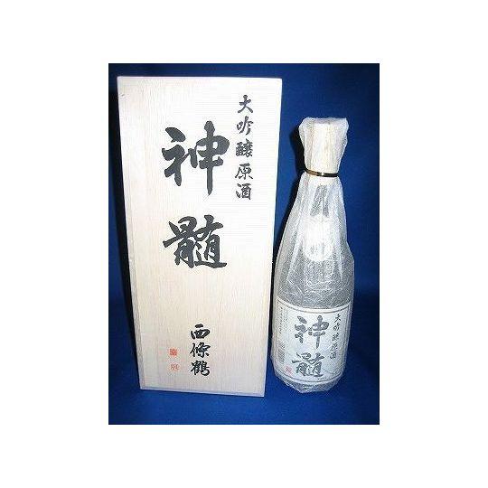 神髄 (西条鶴) 大吟醸原酒 1800ml