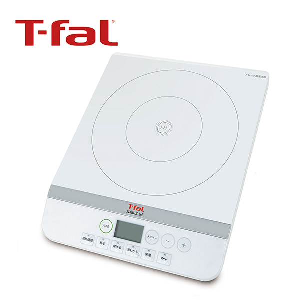 鍋の季節|T-fal IH調理器 デイリーIH ホワイト