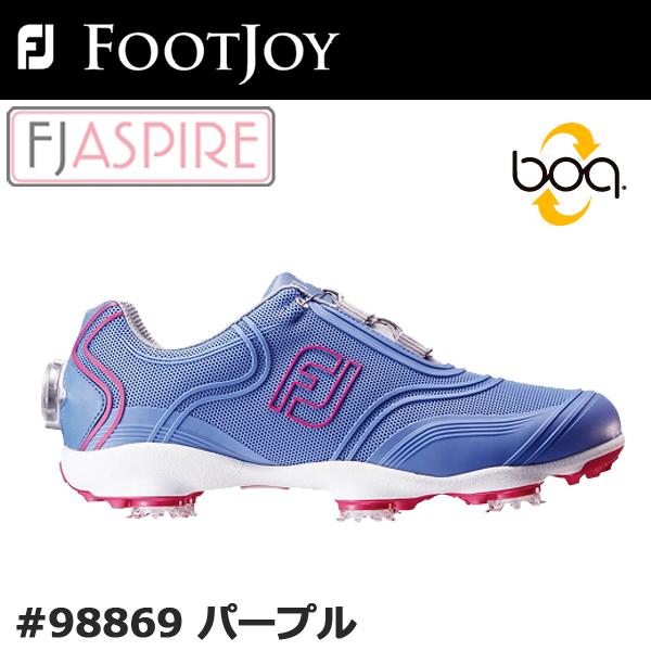 【レディース】【2017年モデル】【フットジョイ】FJ ASPIRE #98869アスパイア ゴルフシューズ ボア【FOOTJOY】【日本正規品】