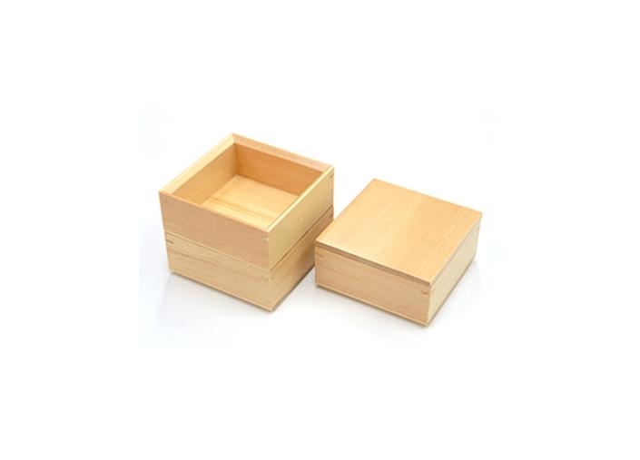 全店販売中 木製弁当箱 木和美正角料理箱 別倉庫からの配送 3段