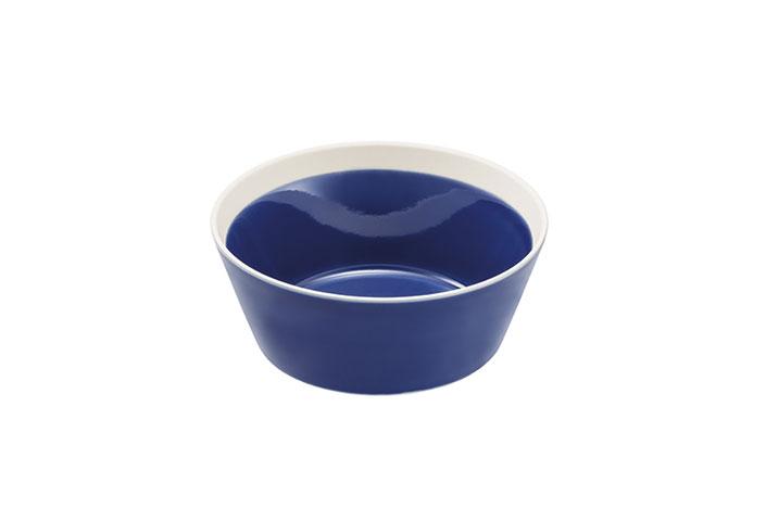 yumiko iihoshi porcelain × 木村硝子店 dishes bowl S ink blue