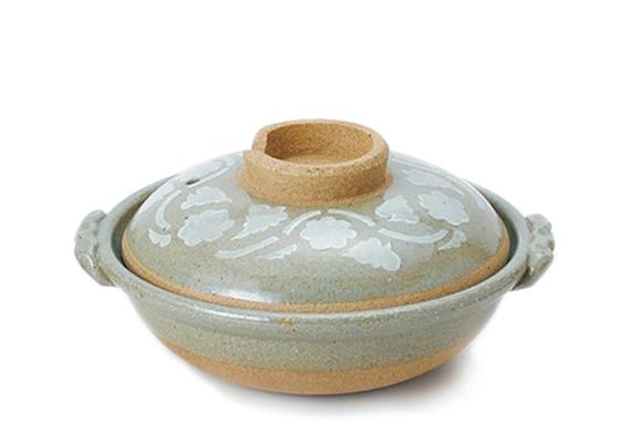 唐草尺土鍋
