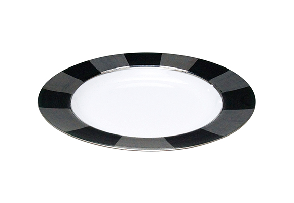 ディコラティス ブラック パスタ皿【廃盤】【在庫がなくなり次第 販売終了】