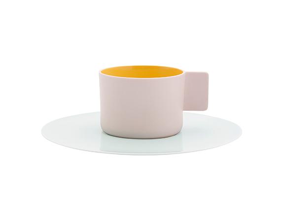 S&B コーヒーカップ & ソーサー ライトピンク