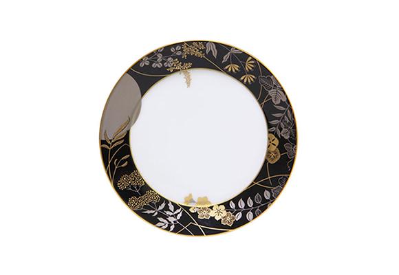 歳時記シリーズ 16.5cmケーキ皿 月見