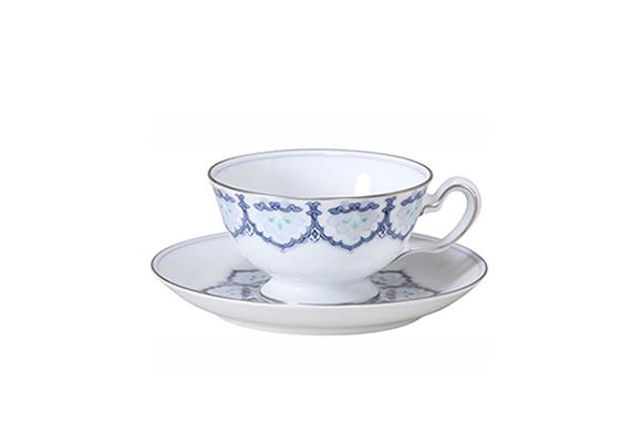 呉須正倉院 ティー・コーヒー碗皿