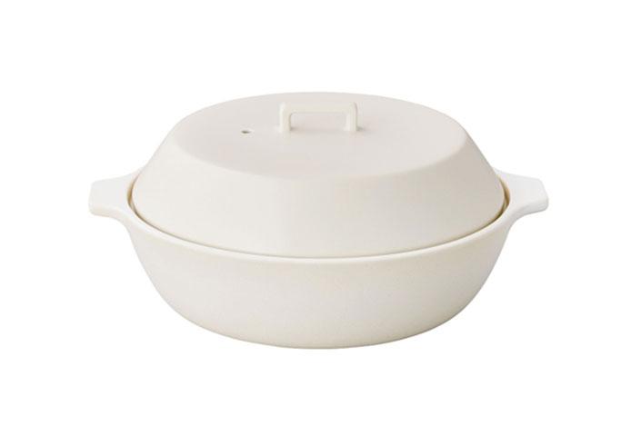 KAKOMI IH土鍋 2.5L ホワイト
