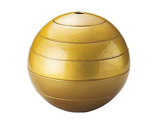 漆石 珠型御節 大 ゴールド