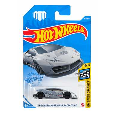 スピード対応 全国送料無料 ホットウィール 定番キャンバス Hot Wheels HCM55 HW ベーシックカー マテル クーペ ウラカン ダイキャストモデルカー ランボルギーニ LBワークス