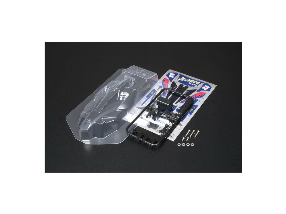 ミニ四駆パーツ GP.369 新品■送料無料■ アバンテMk.II TAMIYAタミヤ 贈与 クリヤーボディセット