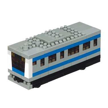 nano 新作 人気 block ナノブロック 倉庫 nGT-022 E233系京浜東北線 カワダ