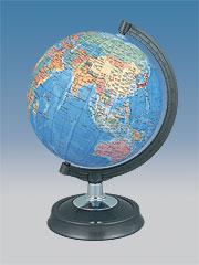 【地球儀<球体直径26cm>】昭和カートン