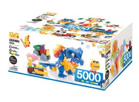 パズルタイプのブロック LaQ ラキュー ベーシックシリーズ【ベーシック 5000】5,000+120ピース/ヨシリツ★日本製